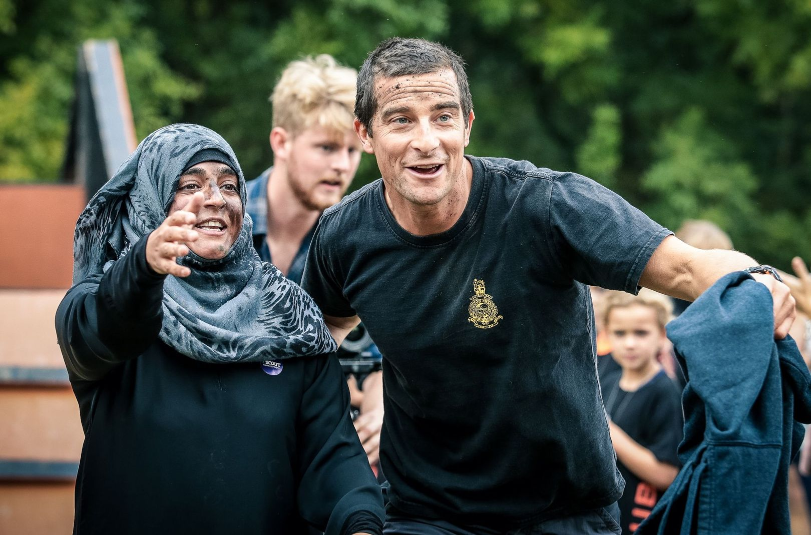 Foto: Bear Grylls, The Scout Association UK (via GQ)